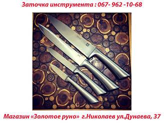 произведена заточка ножа