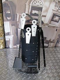 Каминный набор Stefy + подставка Cinta jeans (Италия)