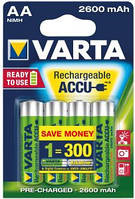 Аккумулятор Varta AA 2600mAh NiMh (5716)