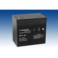 Аккумулятор AGM SUNLIGHT SP 12-55 12В 55А/час