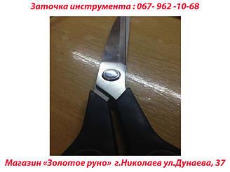 произведена заточка ножниц и замена винта крепления