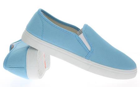 Женские слипоны BUCK blue