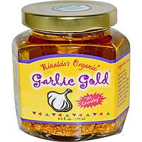 Garlic Gold, Rinaldo's Organic, Смесь из оливкового масла и чеснока 6.4 жидких унции (190 мл)