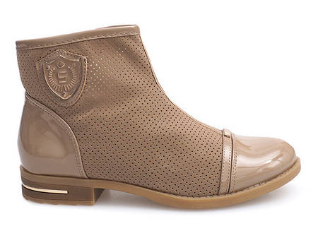 Женские ботинки DAVY Beige