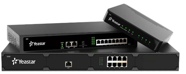 S20, S50, S100, S100 - новейшие IP-АТС от компании YeaStar
