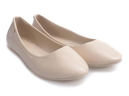 Женские балетки DRAKE Beige