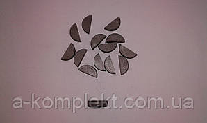 Шпонка сегментная 6х8