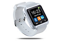 Умные часы. Смарт часы Smart Watch U8 для Android и iOS. Белый. 3 цвета