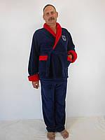 Мужской теплый домашний костюм