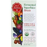 Get Real Nutrition, Fermented SuperJuice Brain, 120 g