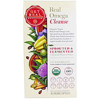 Get Real Nutrition, Real Omega Cleanse, 90 Organic Capsules