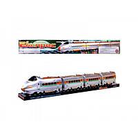Детская игрушка поезд Экспресс M 0335 U/R, звук электрички, вагоны