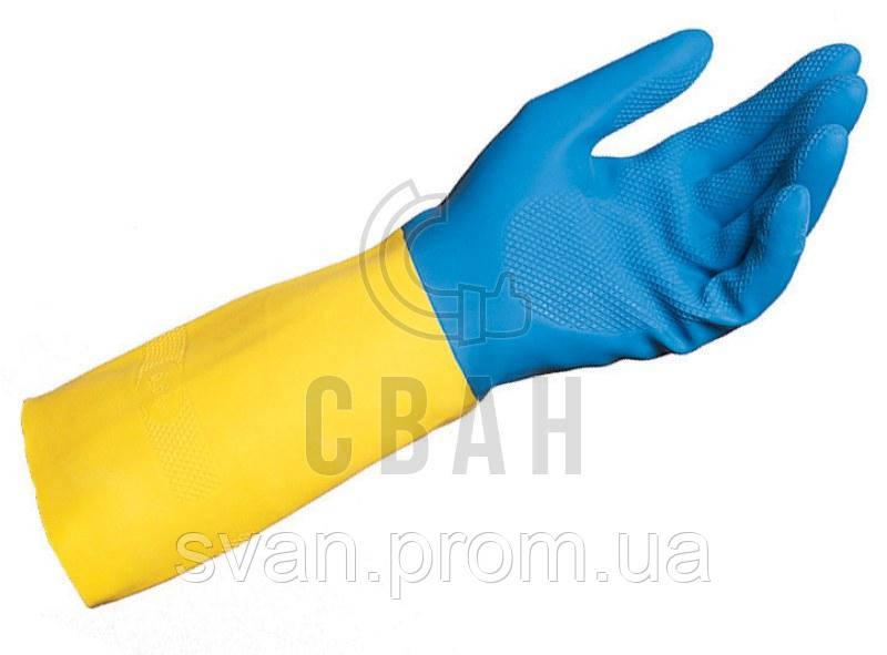 Перчатки латексные DUO-MIX 405 - СВАН в Харькове