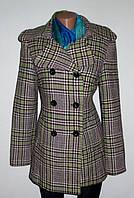 Двубортное Шерстяное Пальто от ZabaiOne р. 44-S Качество
