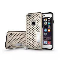 Чехол для iPhone 6/6S Plus - HPG Dot 2 in 1 с подставкой, золотой