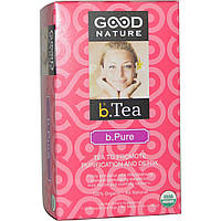 Good Nature Teas, Organic Functional Teas, b.Pure, 20 tea bags (40 g)
