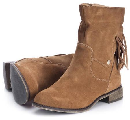 Женские ботинки TITUS. Натуральная замша!