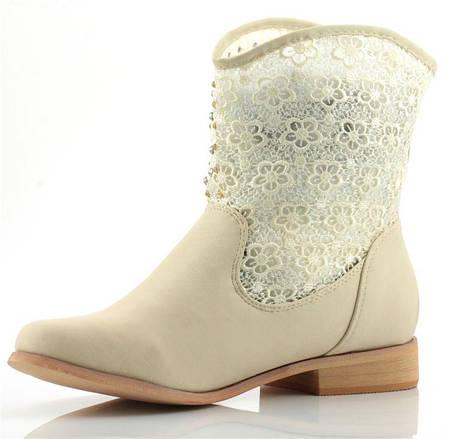 Женские ботинки THERESE BEIGE