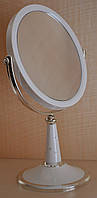 Увеличительное косметическое зеркало