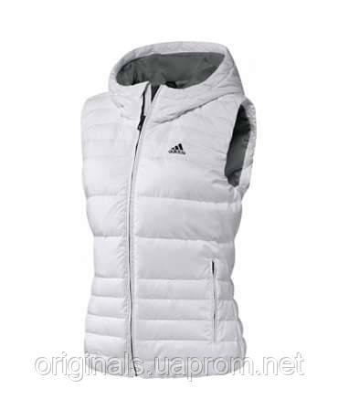 Спортивный жилет женский Adidas COZY W AZ5860 белый  - интернет-магазин Originals - Оригинальный Адидас, Рибок в Киеве