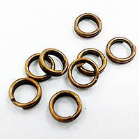 Колечки соединительные для бижутерии (двойные), 5 мм
