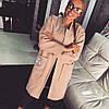 Женское шикарное кашемировое пальто over-size (3 цвета)