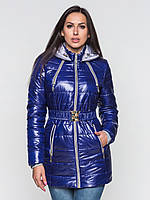 Зимняя стеганая куртка на двойном синтепоне 81118