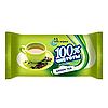 """Серветка волога """"100% Чистоти"""" 15шт Зелений чай/100"""