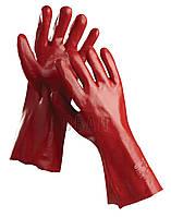 Перчатки хб с покрытием REDSTAR 35 см