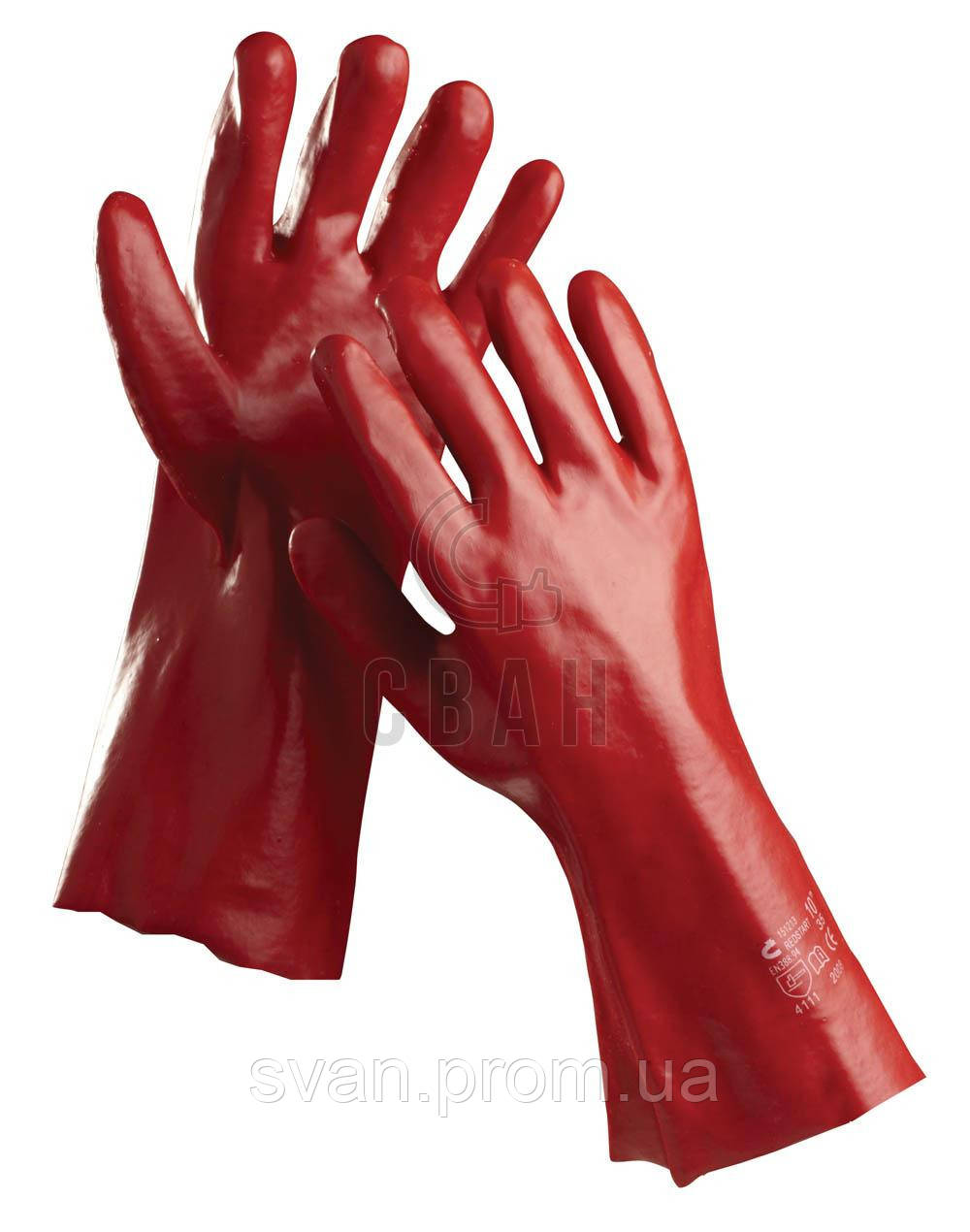 Перчатки хб с покрытием REDSTAR 45 см - СВАН в Харькове