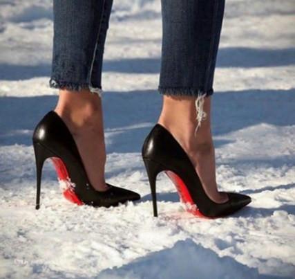 Как не отморозить ноги в лабутенах или Правила подбора стелек