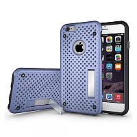 Чехол для iPhone 6/6S Plus - HPG Dot 2 in 1 с подставкой, фиолетовый