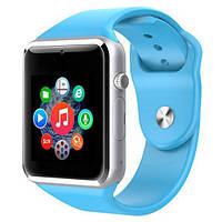 Умные часы Smart Watch A1 Blue, фото 1
