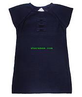 Туника-жилет синего цвета, рост 122 см, фото 1
