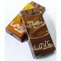 Зажигалка карманная Шоколад Love (обычное пламя)