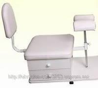 Стул-подставка мобильная для педикюра 15-Б