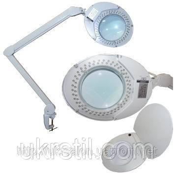 Настольная LED лампа-лупа, 5 диоптрий