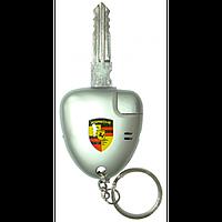 Зажигалка-брелок ключ Porshe