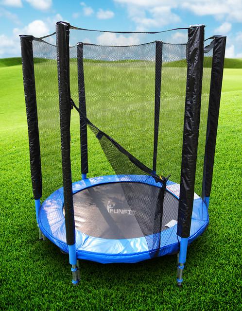 Батут skyJump 150 см для дома на пружинах