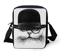 3D сумка с котом в шляпе.