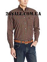 Рубашка Wrangler George Strait, Chestnut/Orange/White, фото 1