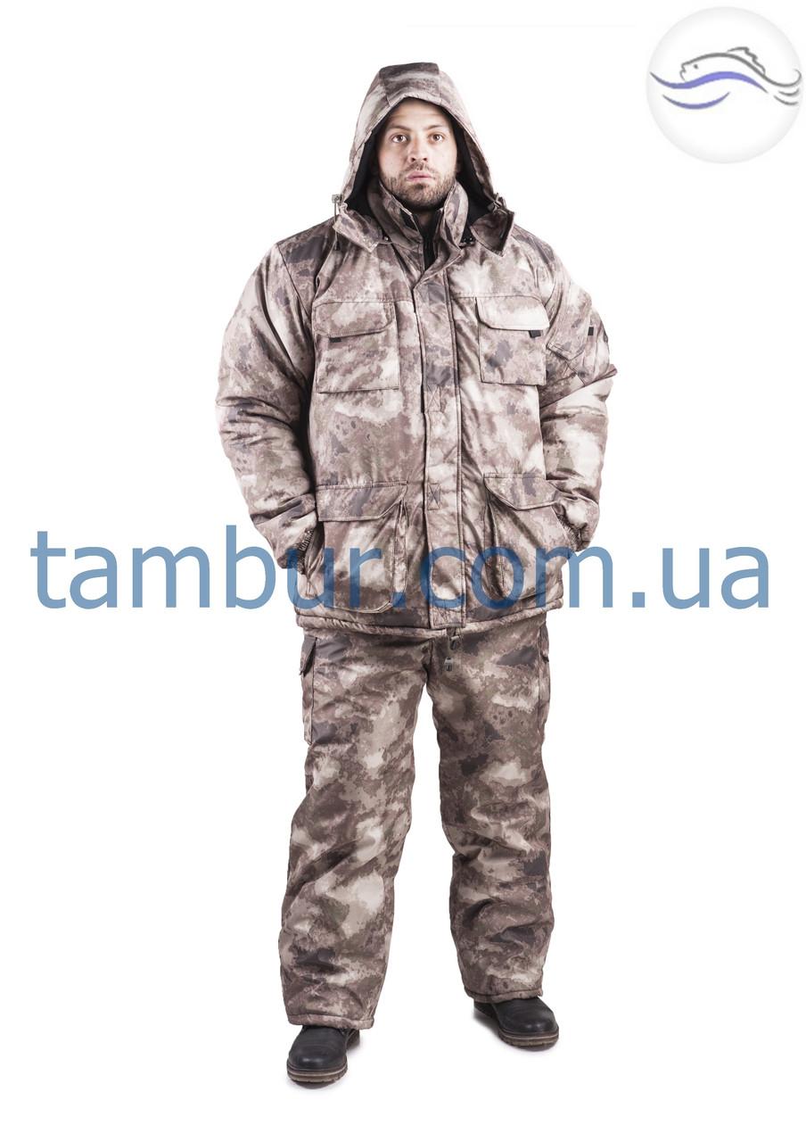 Зимний костюм атака серый (элитный)