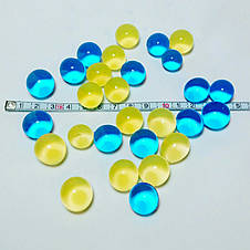 Orbeez Орбіз (Гідрогель) одноколірний 100 шт crystal ball, фото 3