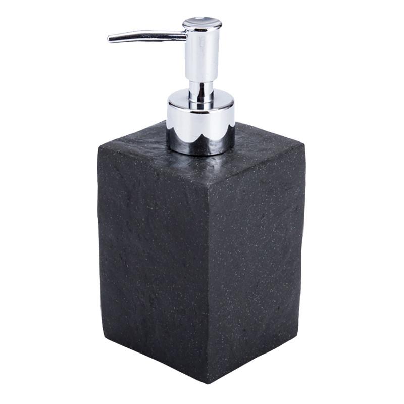 Черный, керамический  дозатор, в ванную комнату настольный - SanGrand в Днепре