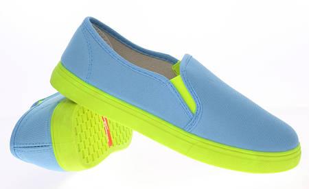 Женские слипоны BUD blue