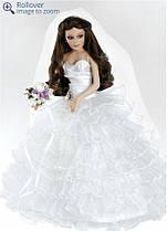 Кукла фарфоровая Paradise Galleries,США. Невеста