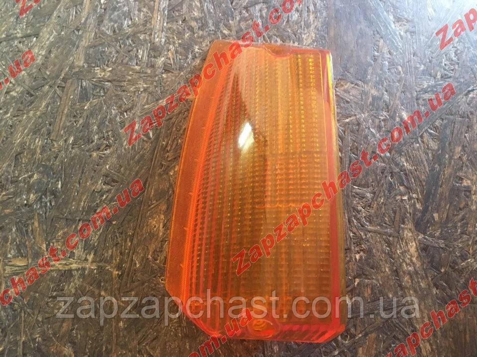 Рассеиватель (стекло) поворотника заз 1102 1103 таврия славута передний правый желтый
