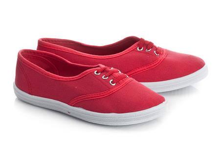 Женские кеды DEITRA  Red