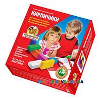 Деревянная игрушка Кирпичики Методика Никитиных 8 штук. Вундеркинд К-005