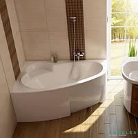 Ванна асимметричная Ravak Asymmetric 150x100 L/R C441000000 / C451000000